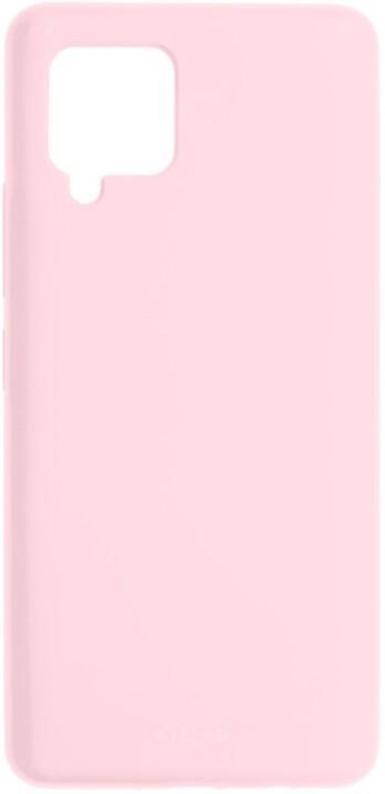 FIXED silikonový kryt Flow pro Samsung Galaxy A42 5G, růžová