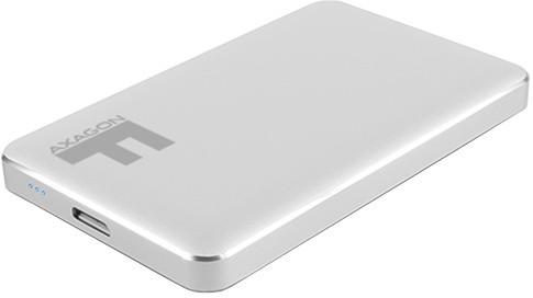 AXAGON EE25-F6S, stříbrná