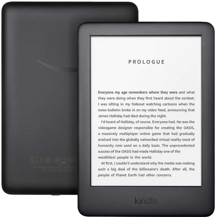 Amazon New Kindle 2019, černá -bez reklamy