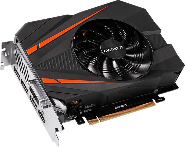 GIGABYTE GeForce GTX 1080 Mini ITX 8G, 8GB GDDR5X