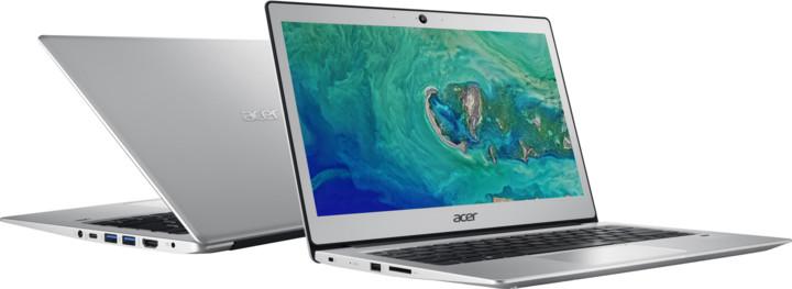 Acer Swift 1 celokovový (SF113-31-P29T), stříbrná