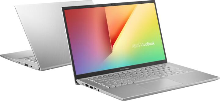 ASUS Vivobook M412DA, stříbrná