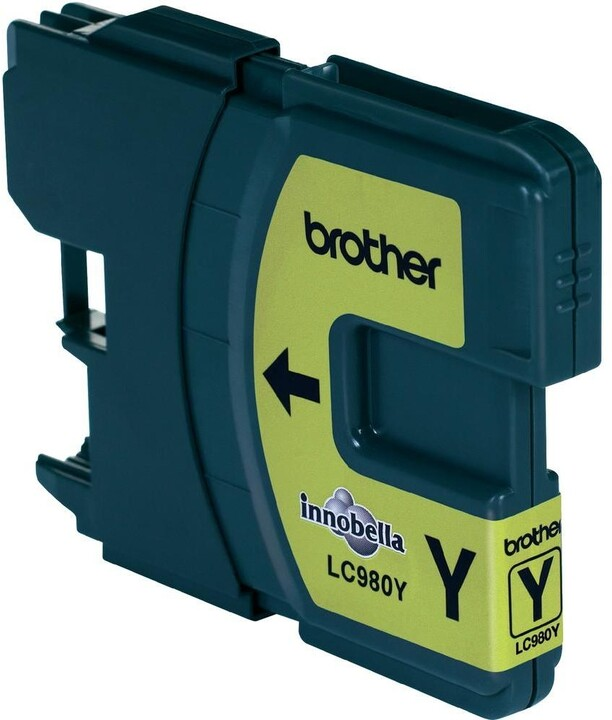Brother LC-980Y, yellow