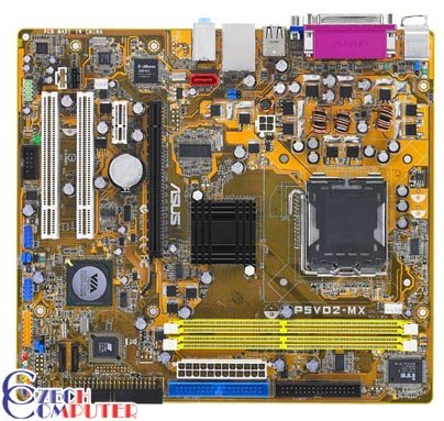 ASUS P5VD2-MX - VIA P4M890