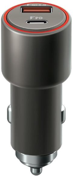 Forever CORE autonabíječka USB QC a USB-C PD 36W, černá