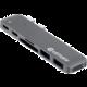 eSTUFF USB-C Slot-in Hub Pro, šedá  + Voucher až na 3 měsíce HBO GO jako dárek (max 1 ks na objednávku)