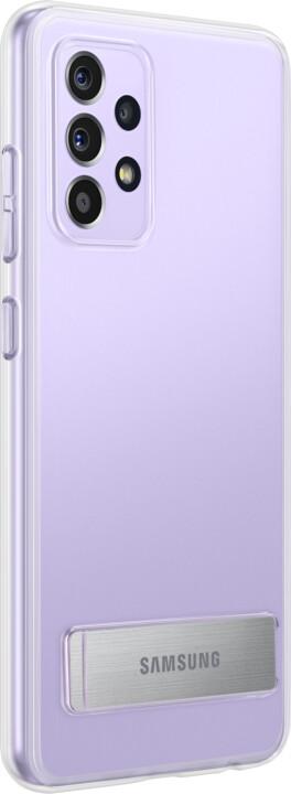 Samsung ochranný kryt Clear Standing pro Samsung Galaxy A52/A52s/A52 5G, se stojánkem, transparentní