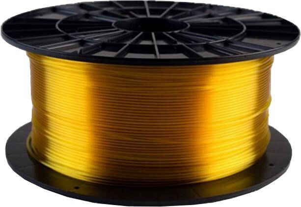 Filament PM tisková struna (filament), PETG, 1,75mm, 1kg, transparentní žlutá
