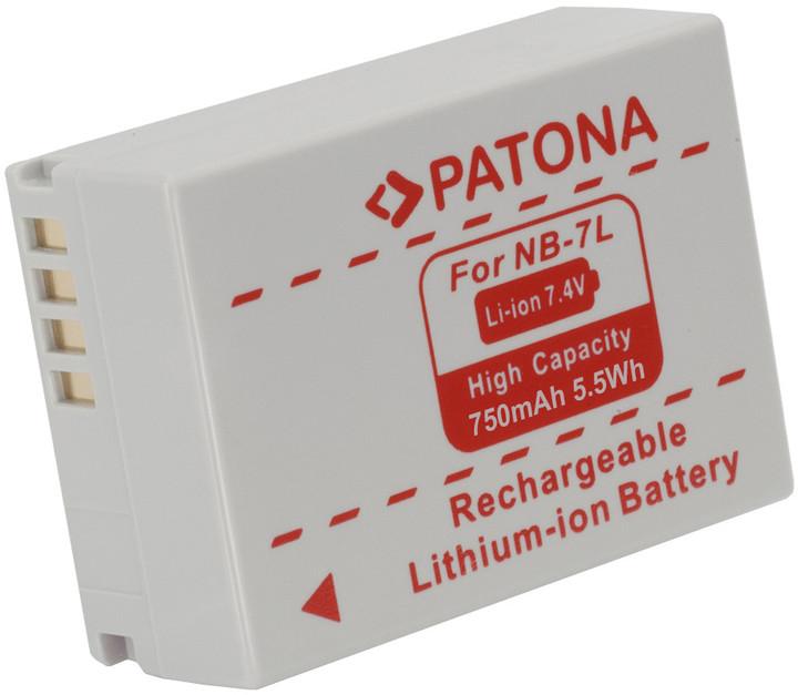Patona baterie pro Canon, NB7L 750mAh