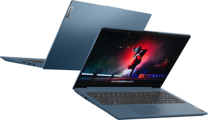 Lenovo IdeaPad 5-15ARE05, modrá