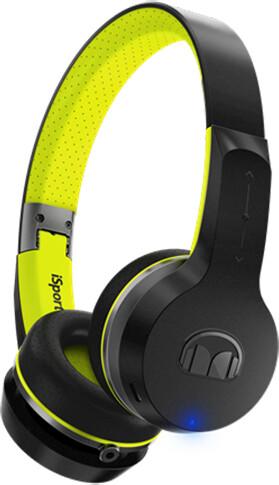 Monster iSport Freedom Bluetooth Wireless On Ear V2, černozelená