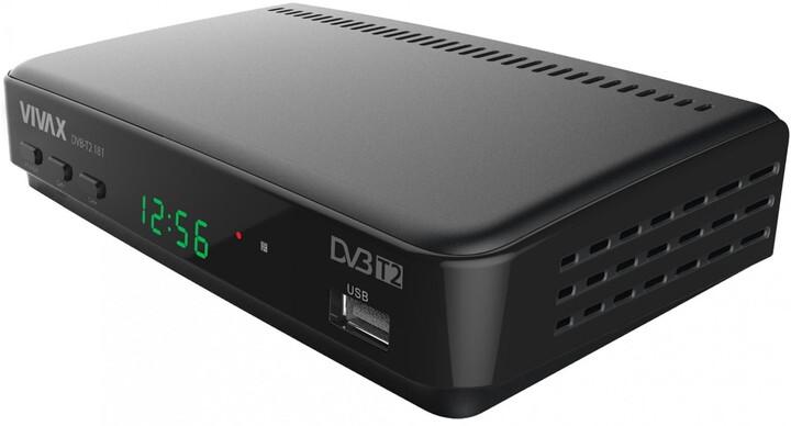 VIVAX 181H, DVB-T2, černá