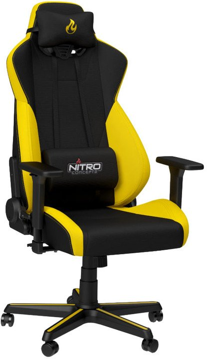 Nitro Concepts S300, černá/žlutá