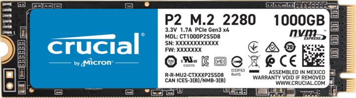 Crucial P2, M.2 - 1TB