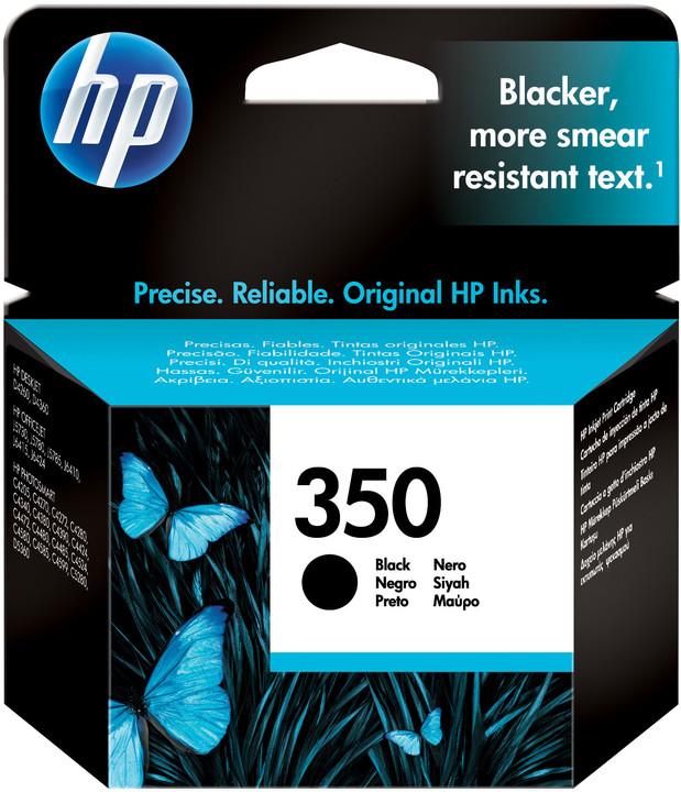 HP CB336EE, no.350, černá – ušetřete až 50 % oproti standardní náplni