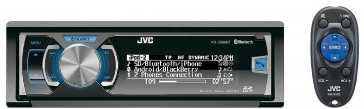 JVC KD SD80BT