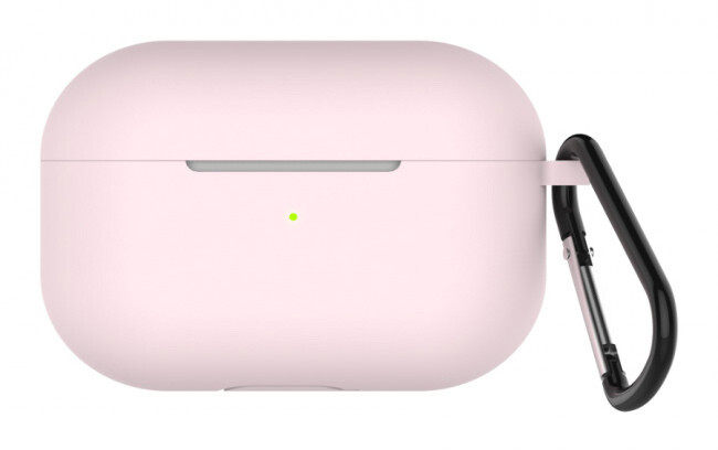LAB.C Silikonové pouzdro na Apple Airpods Pro, růžová
