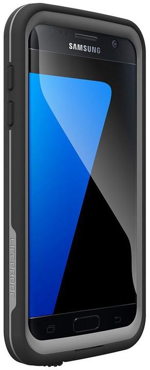 LifeProof Fre pouzdro pro Samsung S7, odolné, černá
