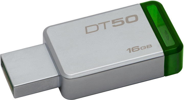 Kingston DataTraveler 50 16GB zelená