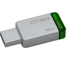 Kingston DataTraveler 50 16GB zelená - DT50/16GB