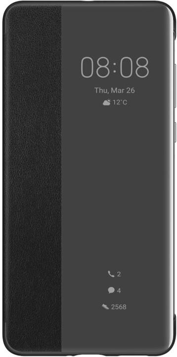 Huawei Original S-View pouzdro pro P40, černá
