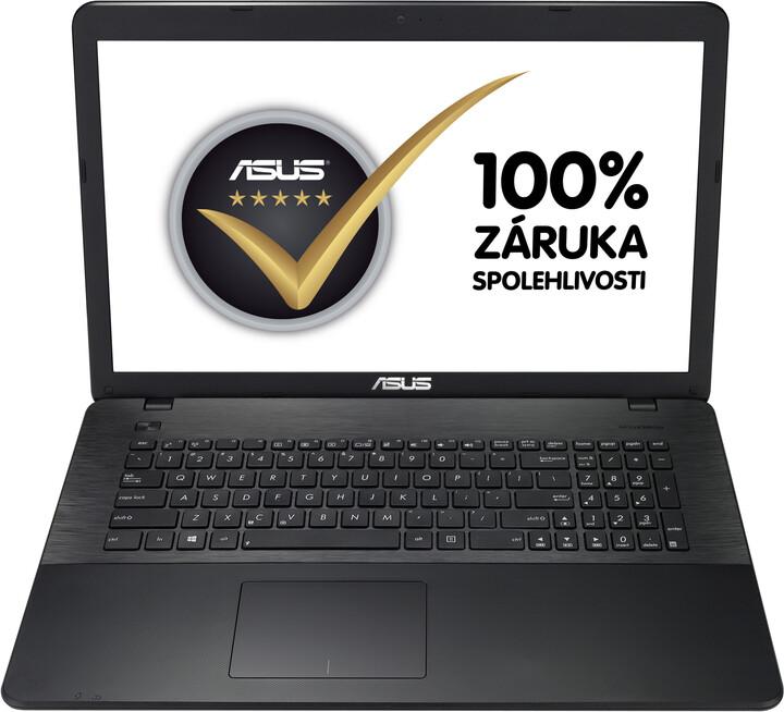 ASUS X751LD-TY070H, černá