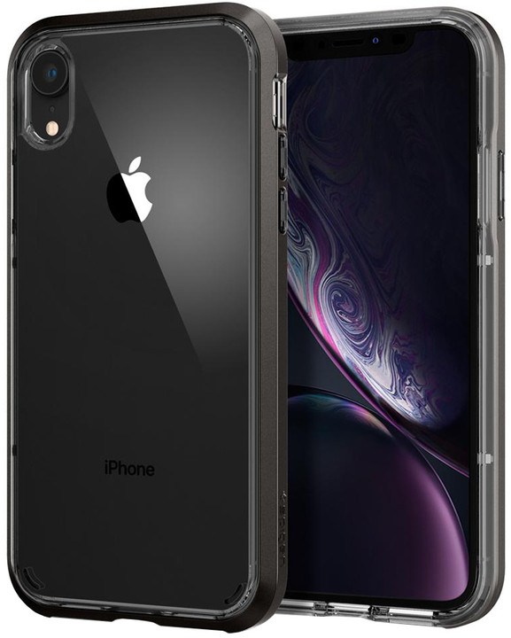 Spigen Neo Hybrid Crystal iPhone Xr, gunmetal