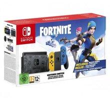 Nintendo Switch Fortnite Special Edition, žlutá/modrá - NSH056