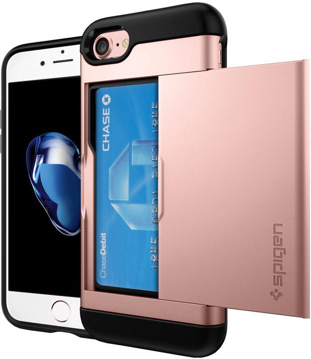Spigen Slim Armor CS pro iPhone 7, rose gold