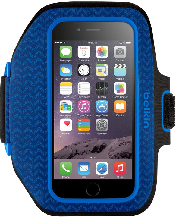 Belkin Sport Fit Plus Armband pouzdro pro iPhone 6/6s, blueprint/marina