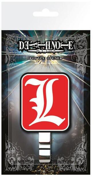 Otvírák Death Note - L Logo