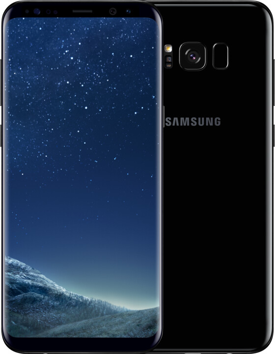 Samsung Galaxy S8+, 64GB, černá - sleva 20% po zadání kódu: S8OD2018