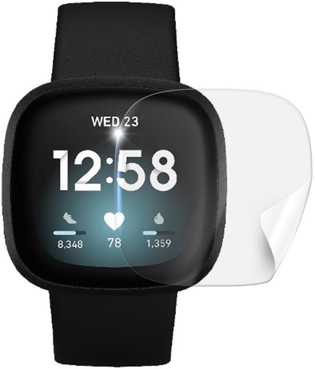 Screenshield fólie na displej pro Fitbit Versa 3