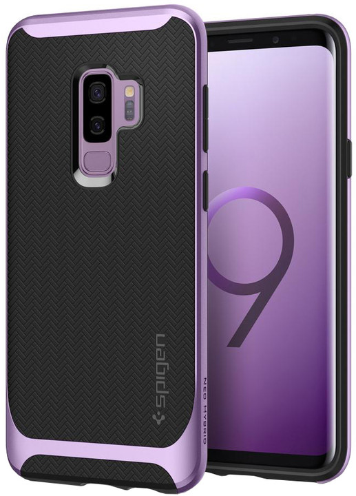 Spigen Neo Hybrid pro Samsung Galaxy S9+, lilac purple