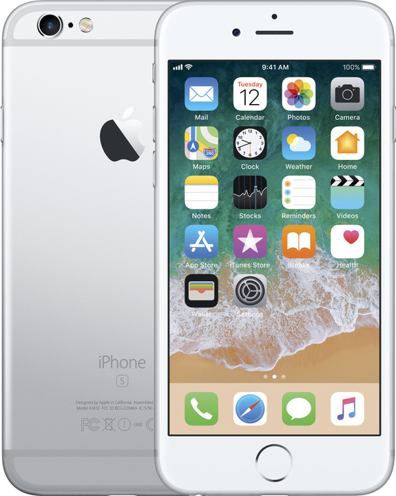 Apple iPhone 6s 32GB, stříbrná