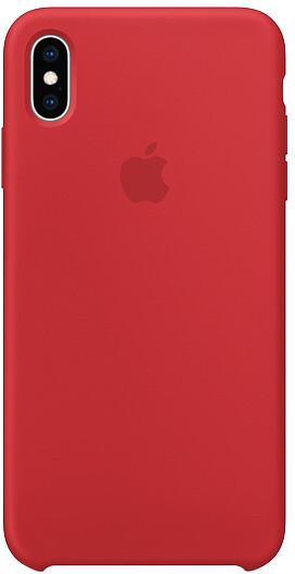 Apple silikonový kryt na iPhone XS Max (PRODUCT)RED, červená