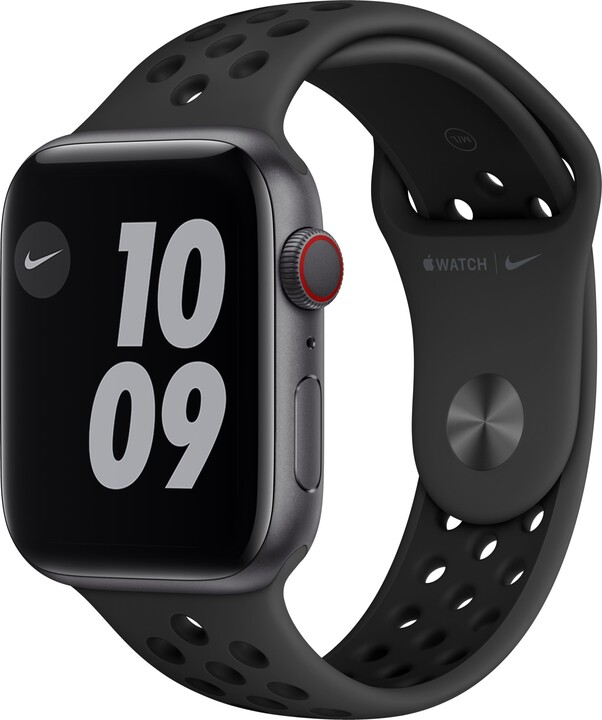 Apple Watch Nike Series 6 Cellular, 44mm, Space Grey, Anthracite/Black Nike Sport Band