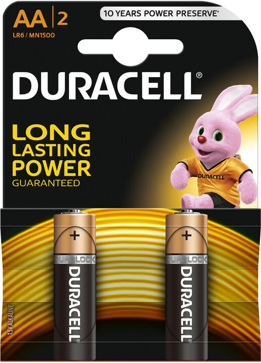 Duracell Basic AA, 2ks