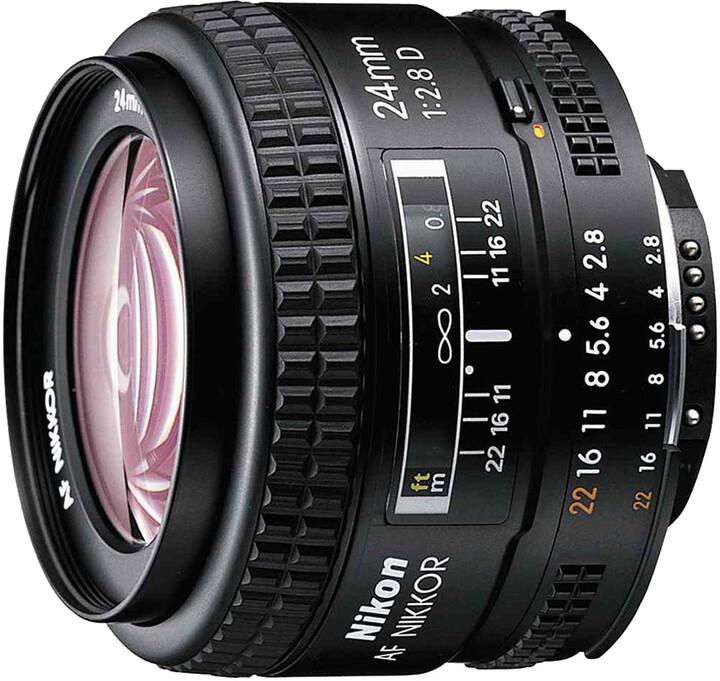 Nikon objektiv Nikkor 24mm f/2.8D AF