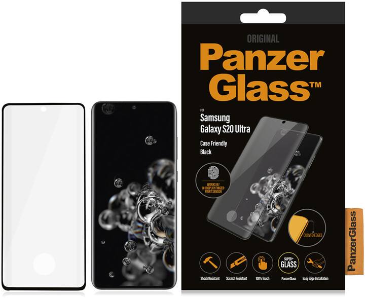 PanzerGlass Premium pro Samsung Galaxy S20 Ultra (FingerPrint), černá