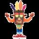 Plyšák Crash Bandicoot - Uka Uka