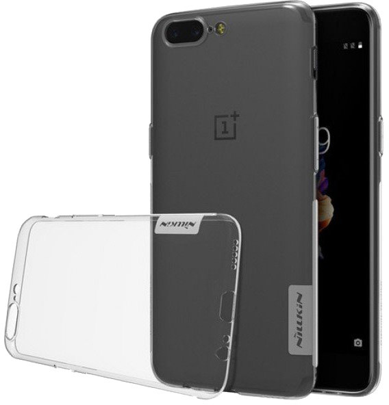 Nillkin Nature TPU Pouzdro pro OnePlus 5T, transparentní