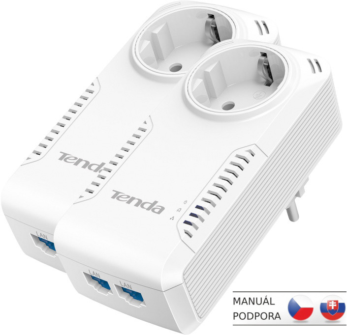 Tenda P1002P Powerline Adapter Kit, 2ks