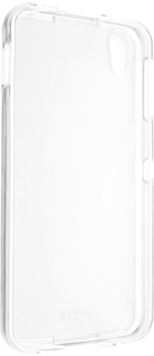 FIXED gelové pouzdro pro Alcatel IDOL 4 / BlackBerry DTEK50, bezbarvá