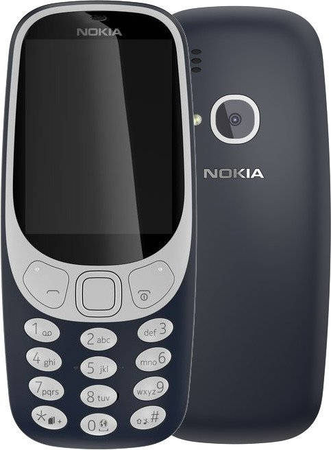 Nokia 3310, Single Sim, modrá