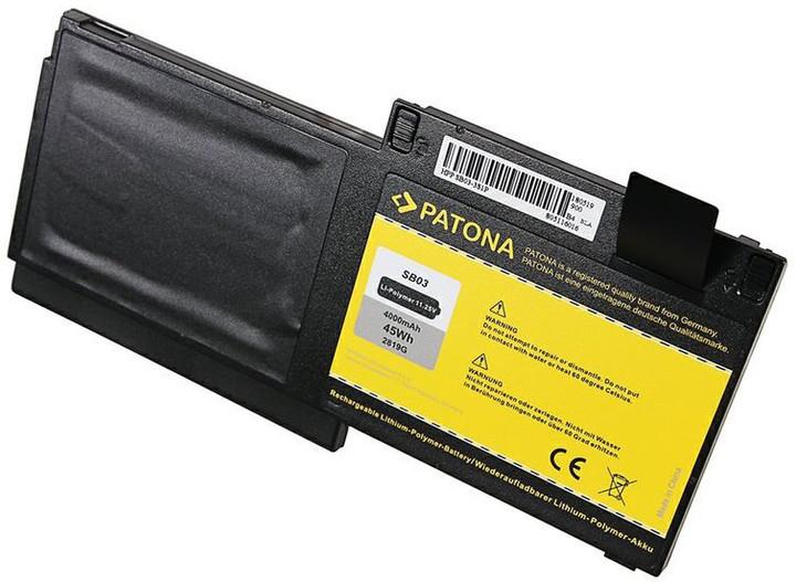 Patona baterie pro HP Elitebook 720/725/825 4000mAh