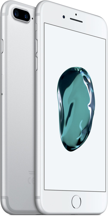 Apple iPhone 7 Plus, 256GB, stříbrná