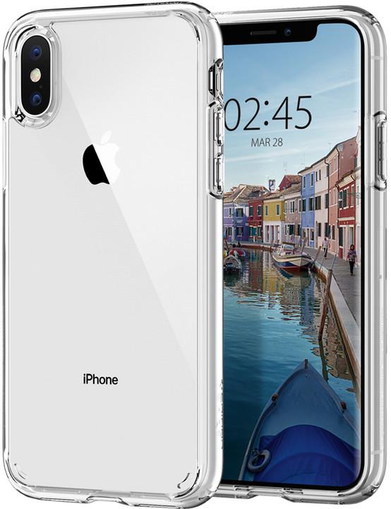Spigen Ultra Hybrid Crystal iPhone Xs/X, clear