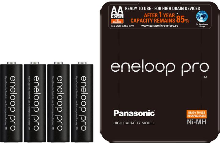 Panasonic Eneloop HR6 AA 3HCDE/4L PRO Sliding Pack