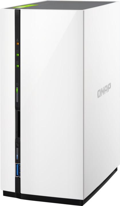 QNAP TS-228 2TB (2x 2TB)